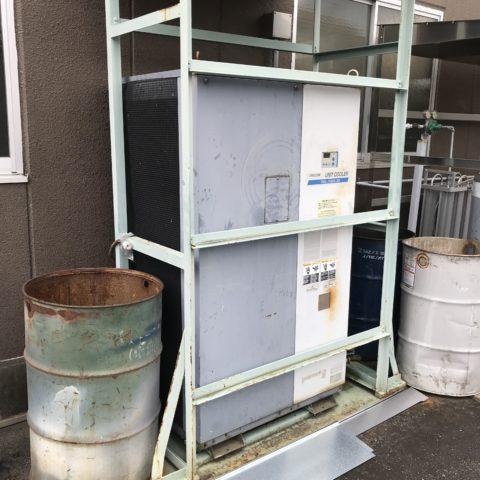 レーザー加工機を集約することで不要になる冷却用のチラー
