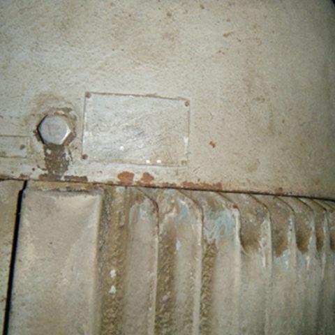 老朽化した造粒設備の電動機